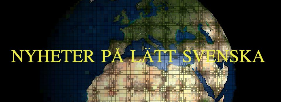 News in easy Swedish
