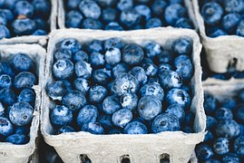 Blueberries and strawberries are part of the Swedish summer.