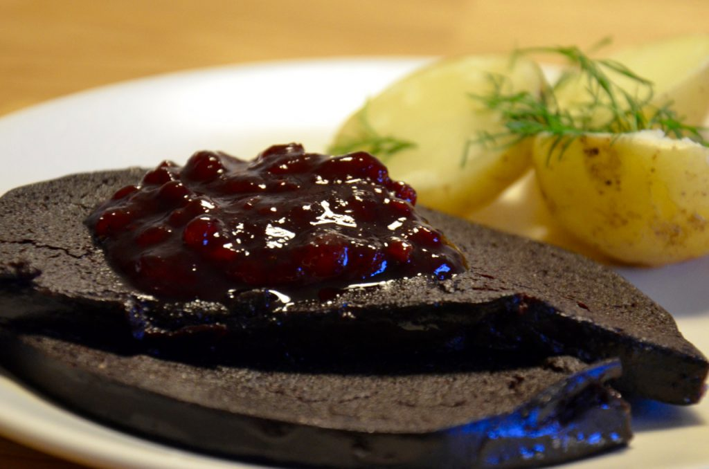 Blood pudding - a Swedish classic.