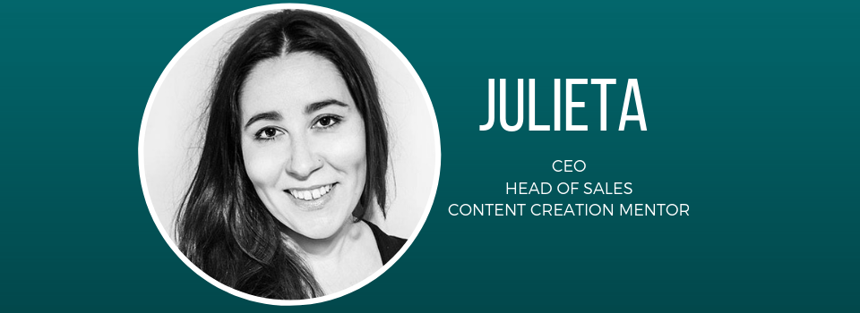 Behind The Newbie: CEO Julieta