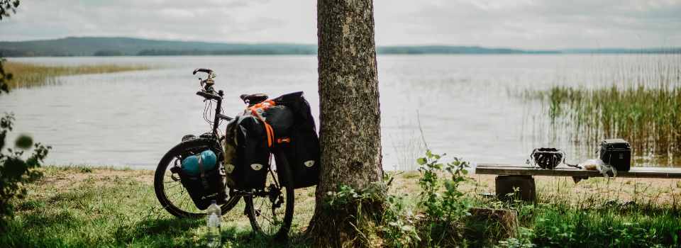 Bikecamping trip to Stockholm from Skåne