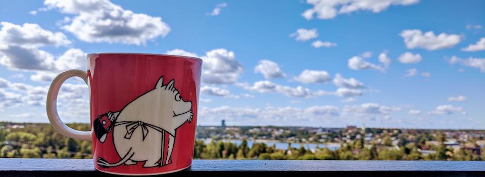 Moominmamma mug